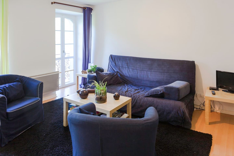 Appartement T3 à Luz, à 2 pas des thermes Luzéa.