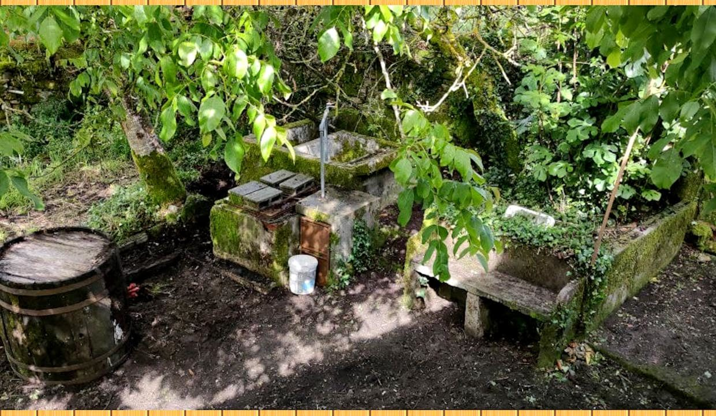 Maison-Campagne-Espagne-San-Amaro-Carballino-jardin