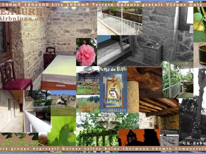 Maison Campagne San Amaro Espagne Carballino Composition
