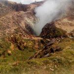 Volcan la soufrière en Gwada