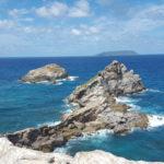 La pointe des châteaux, Guadeloupe