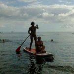 Sortie en Paddle petit Malendure, Guadeloupe