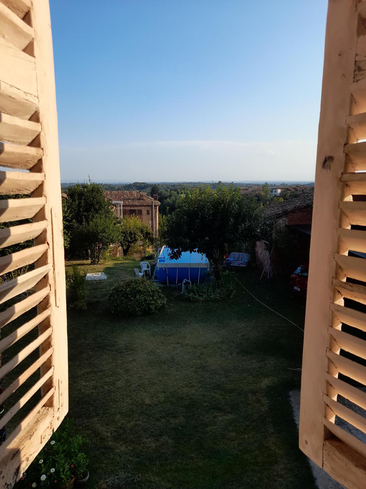 Chambre chez l'habitant à La Casa Delle Caramelle, Piovà Massaia, Italie.